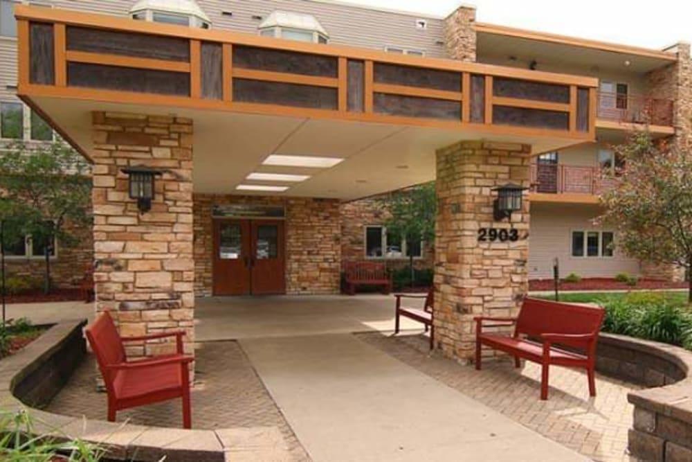 Main entrance at Prairie Hills Cedar Rapids in Cedar Rapids, Iowa