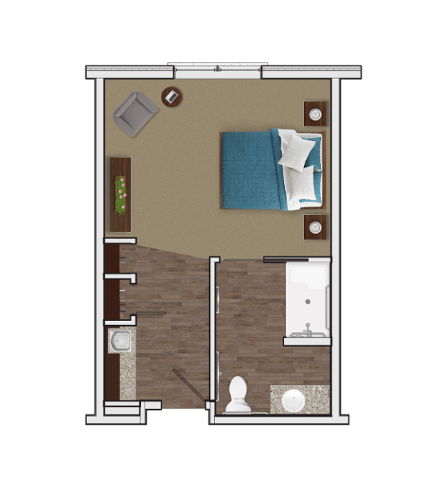 Memory Care Private Suite at Stonecrest of McCandless