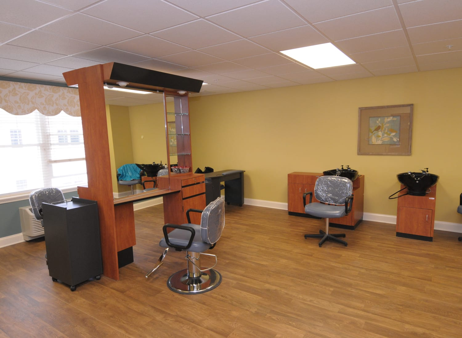 Hair salon at The Birches at Newtown in Newtown, Pennsylvania