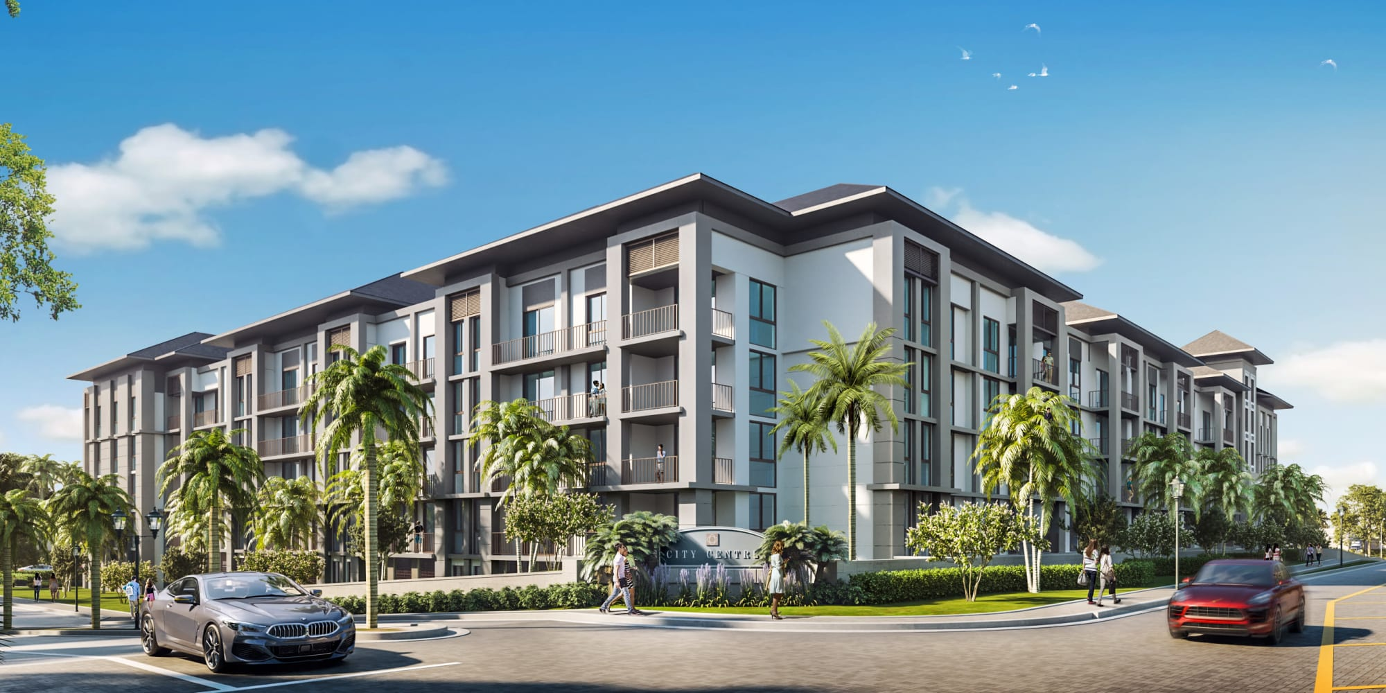 Apartments at Solera at City Centre in Palm Beach Gardens, Florida