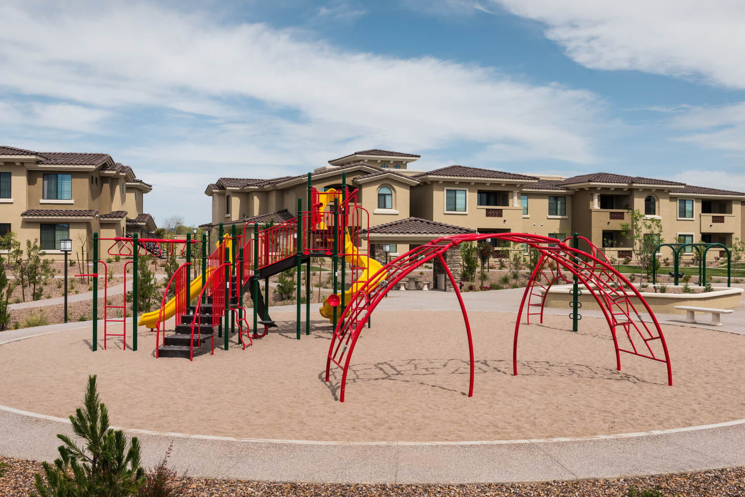 Playground at San Valencia in Chandler, Arizona