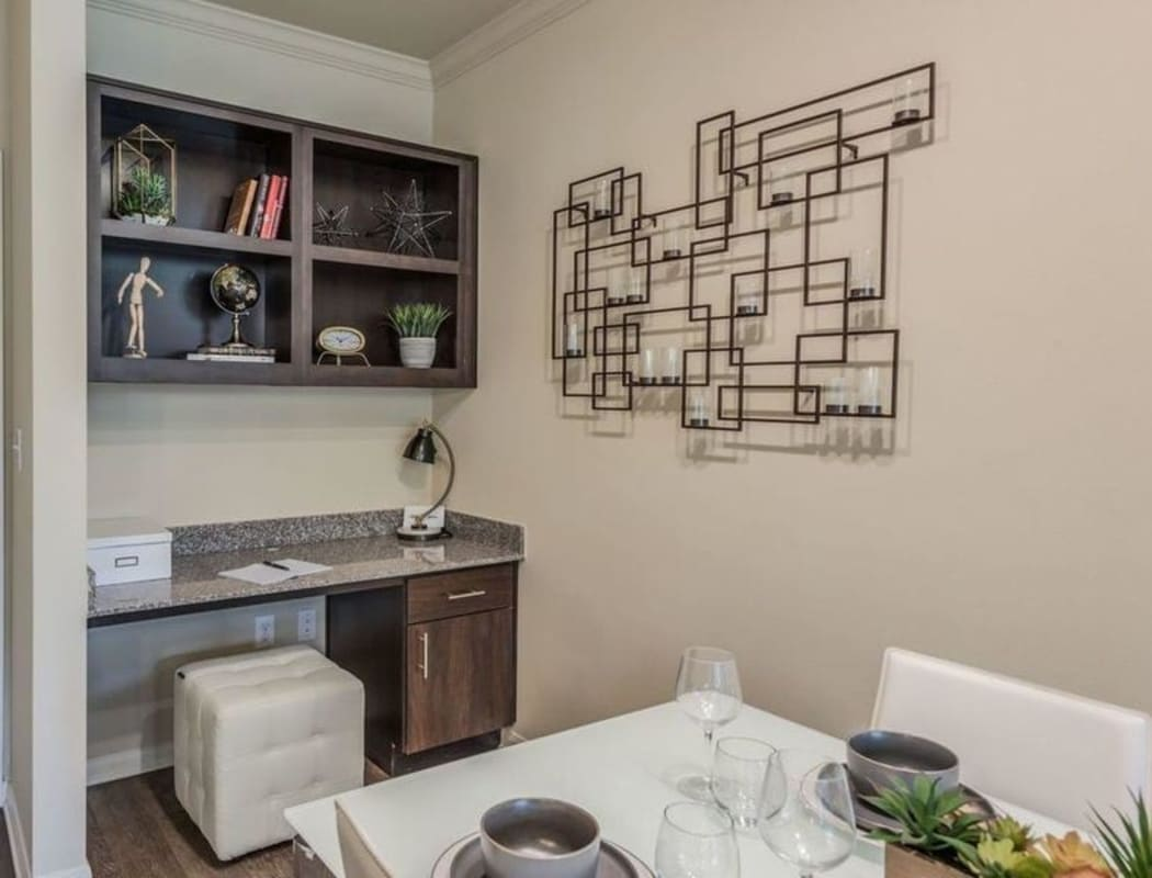 In-home features at Heights West 11th in Houston, Texas