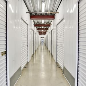 Inside storage units at A-1 Self Storage in San Jose, California