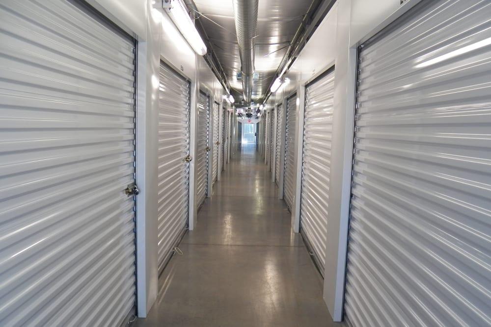 Storage inside at Breezy Hill Self Storage in Graniteville, South Carolina