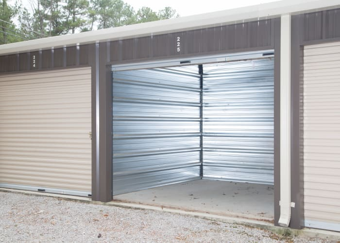 Medium empty storage unit for rent from My Oxford Storage