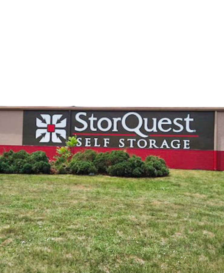 Exterior view of StorQuest Self Storage in Port St Lucie, Florida