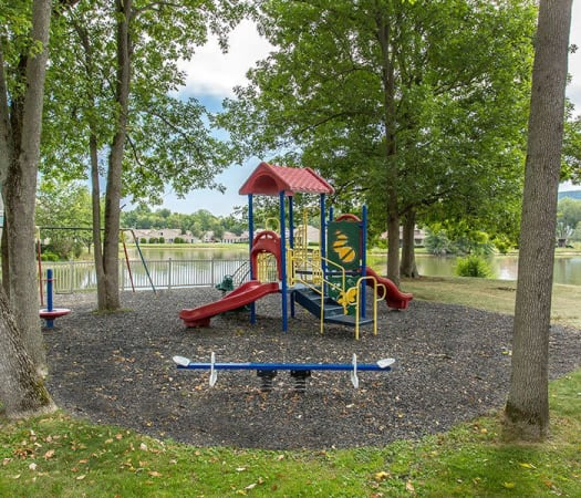 Emerald Springs Apartments playground in Painted Post, New York
