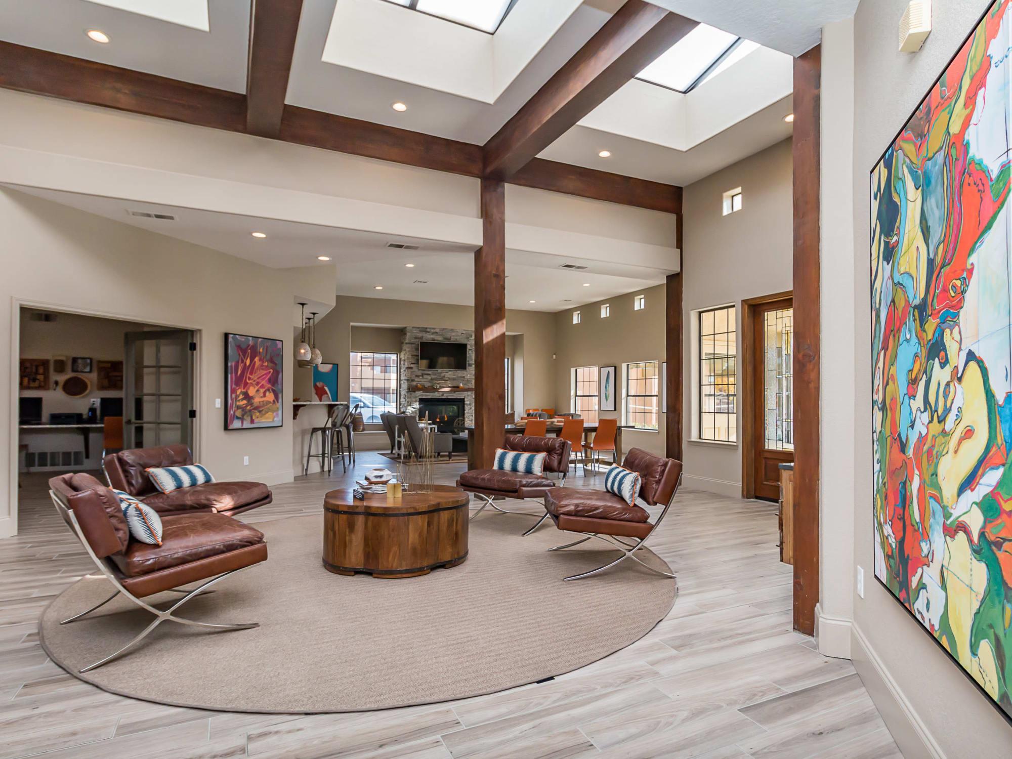 Enjoy our beautiful apartments in Albuquerque, New Mexico at San Miguel del Bosque