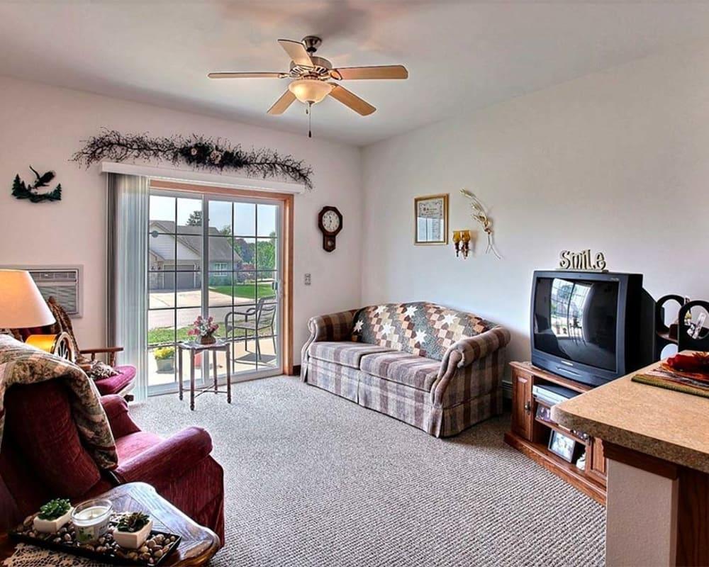 Spacious apartments are available at Milestone Senior Living Hillsboro in Hillsboro, Wisconsin.
