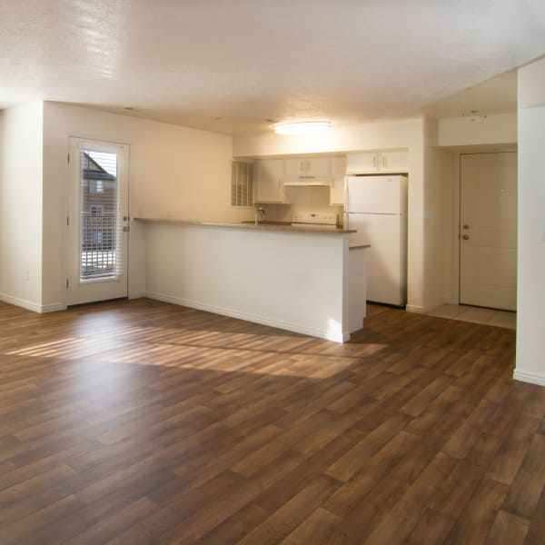 Nice kitchen at Ridgeview Apartments