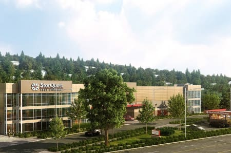 External view of storage units in Portland, Oregon