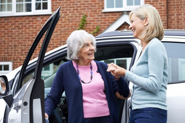 Assisted Living in Michigan City offers complimentary transportation