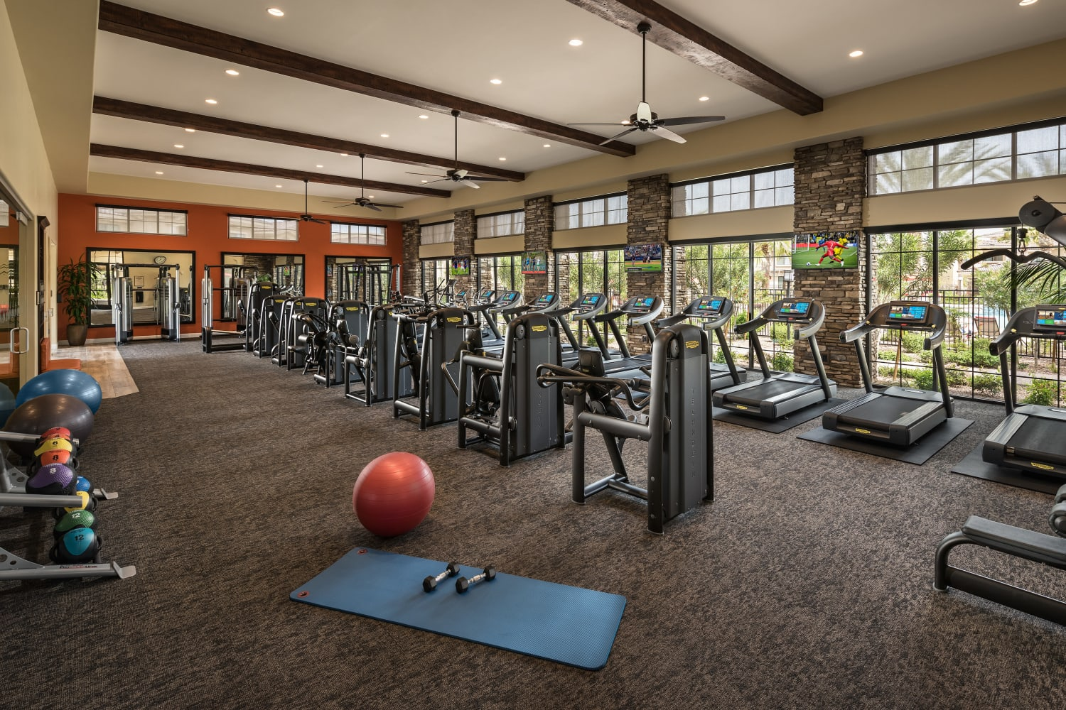 Fitness Center at San Valencia in Chandler, Arizona
