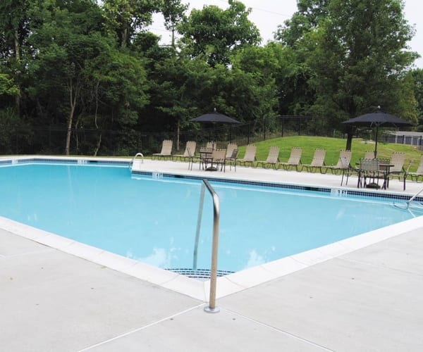 Swimming pool at Sherry Lake Apartment Homes in Conshohocken, Pennsylvania