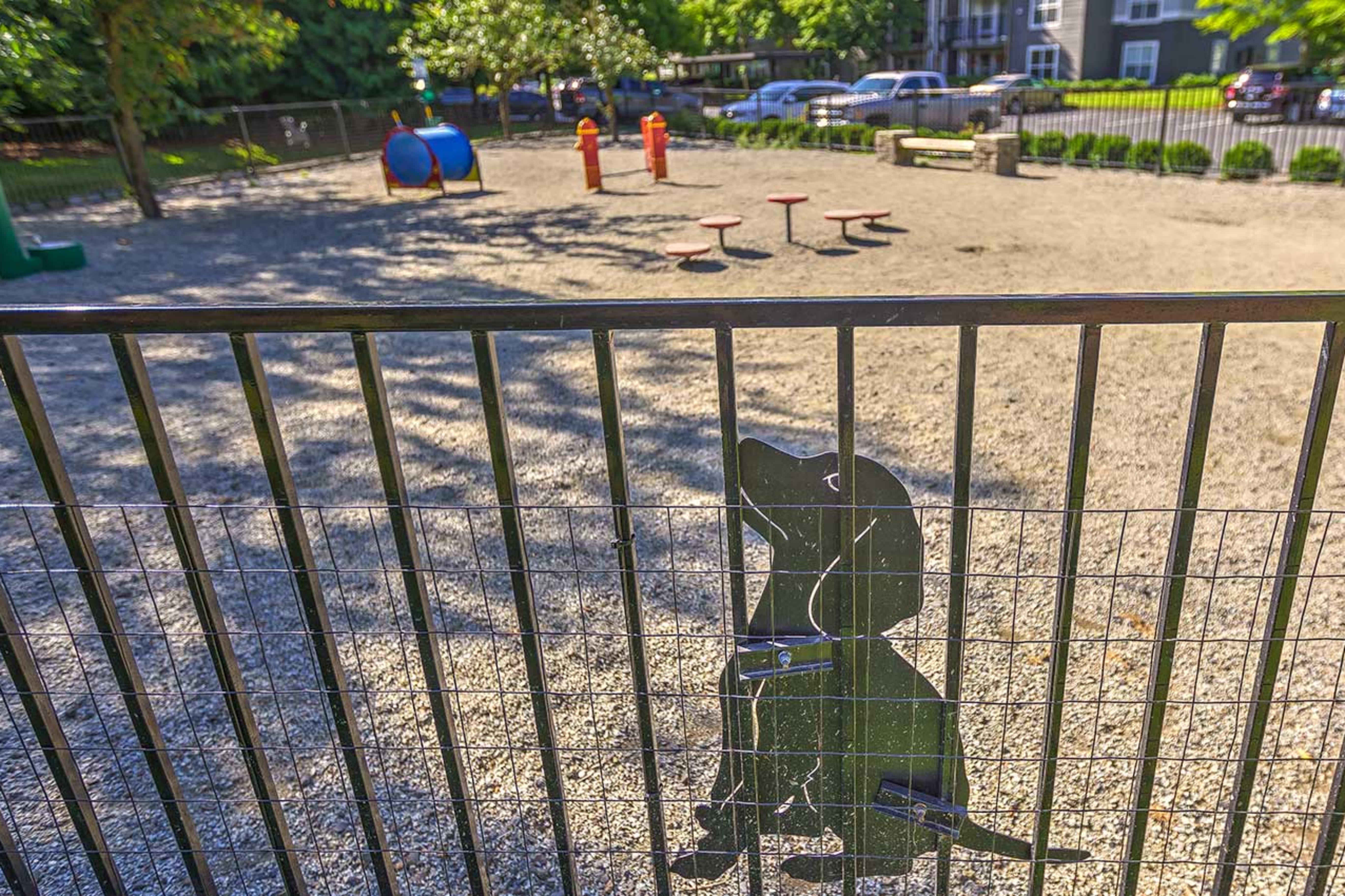 Centro Apartment Homes bark park