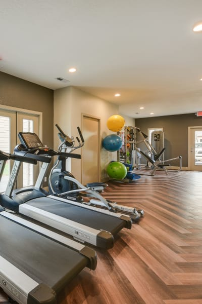 Super fitness center at Carriage House Apartments in Vancouver, WA