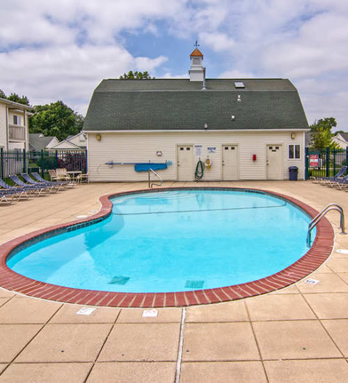 Pool at Steeplechase Apartments & Townhomes in Toledo, Ohio
