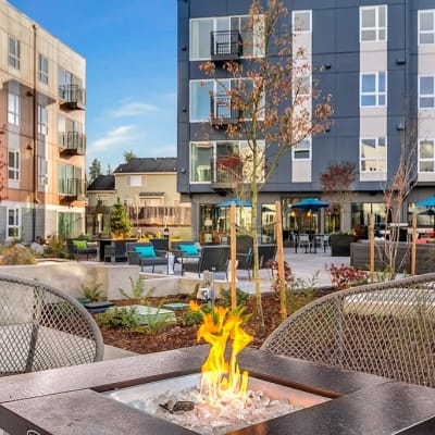 Wonderful apartment features offered at Trillium Apartments in Edmonds