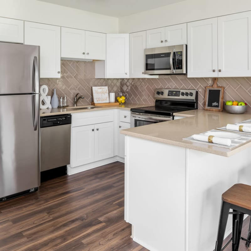 Kitchen at Ramsey Village Continuing Care in Des Moines, Iowa