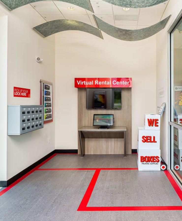 Virtual rental center at StorQuest Express - Self Service Storage in Palm Coast, Florida