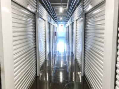 Storage Star features clean interior storage units in Dallas, Texas