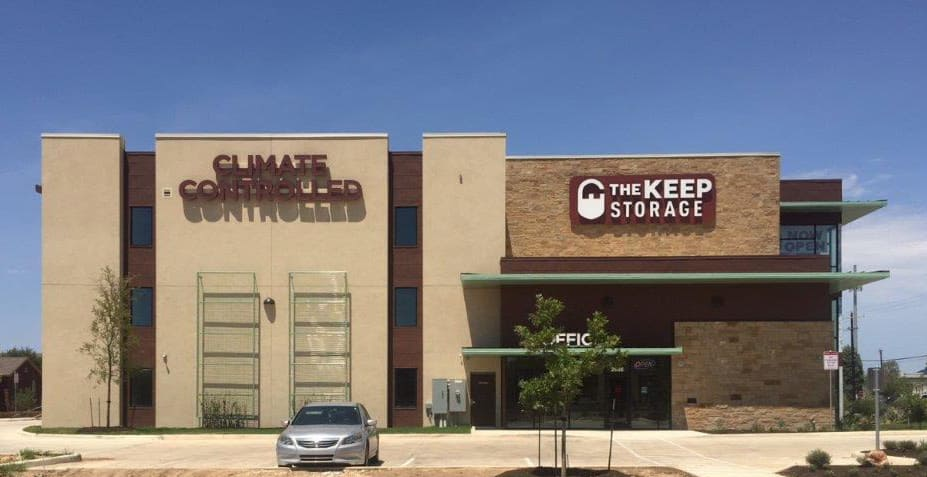 Exterior at The Keep Storage - Thousand Oaks in San Antonio, Texas