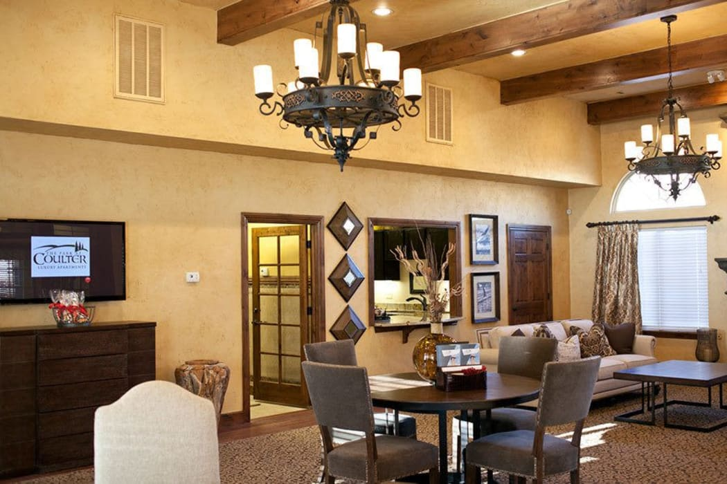 The clubhouse at Park at Coulter in Amarillo, Texas