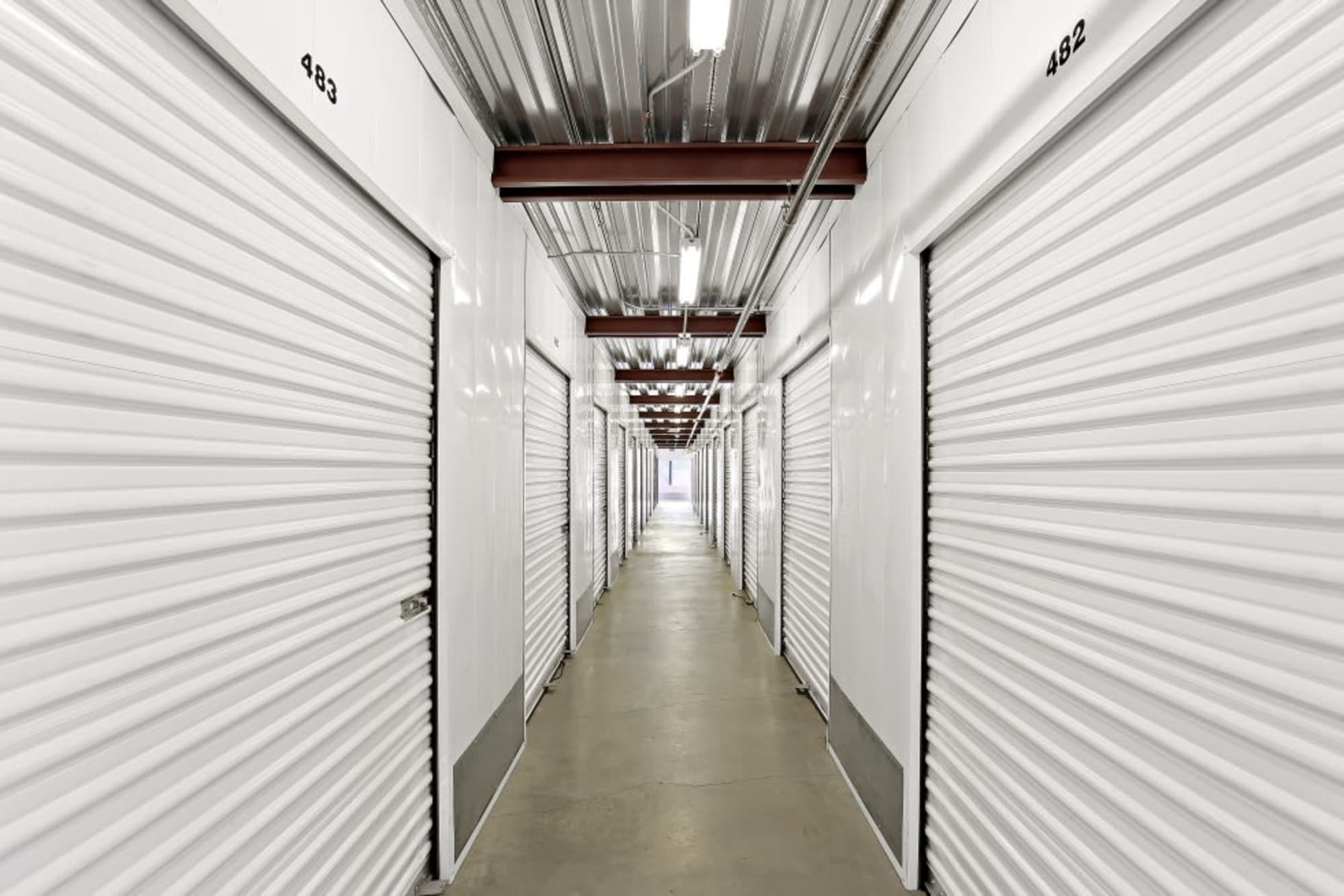 Rows of indoor storage in Lakeside,