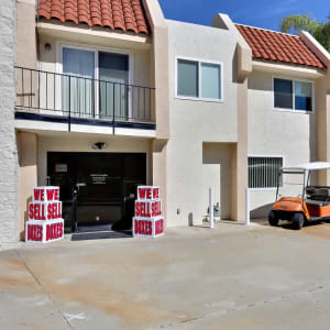Outside view of the office at A-1 Self Storage in San Diego, California