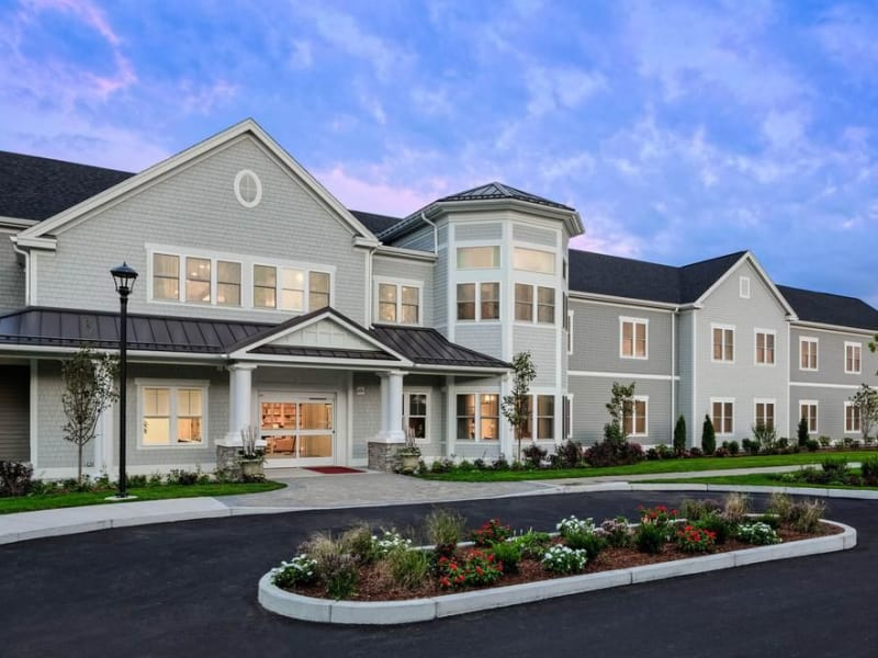 one bedroom at our senior living facility in west yarmouth