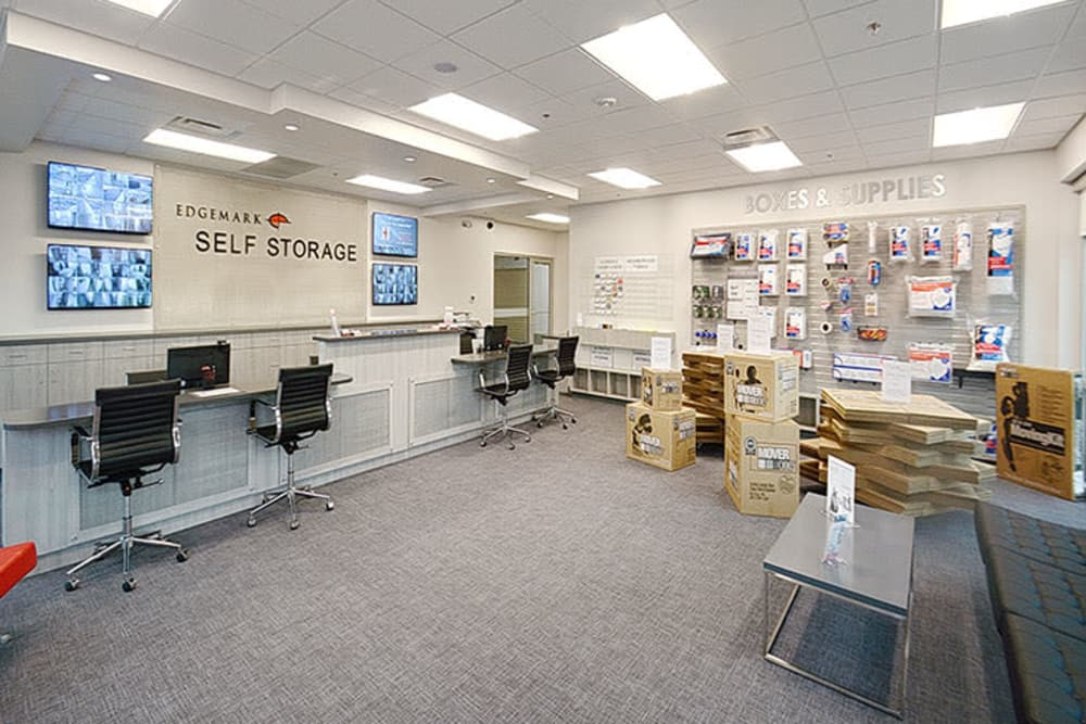 Office at Edgemark Self Storage in Glendale, Colorado