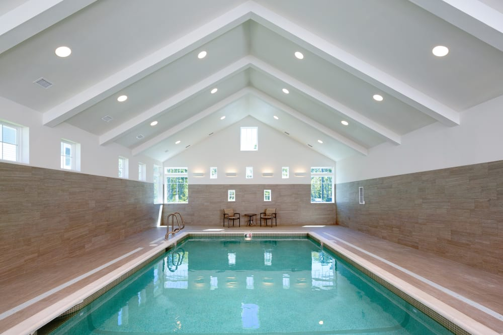 Keep active in Maplewood at Brewster's luxurious pool.