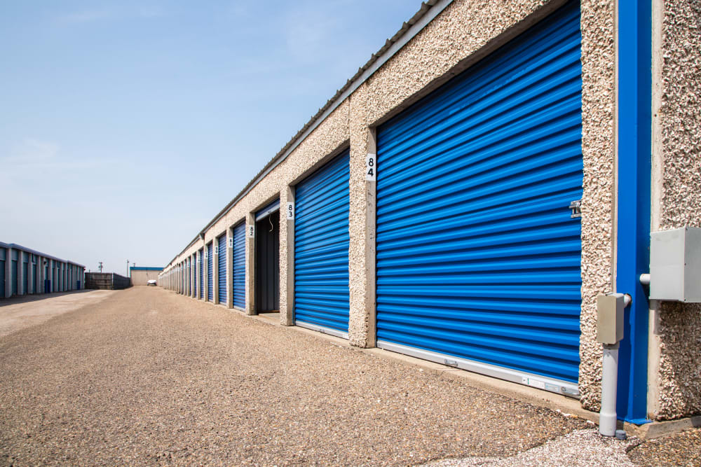 Outdoor units at Metro Self Storage in Amarillo