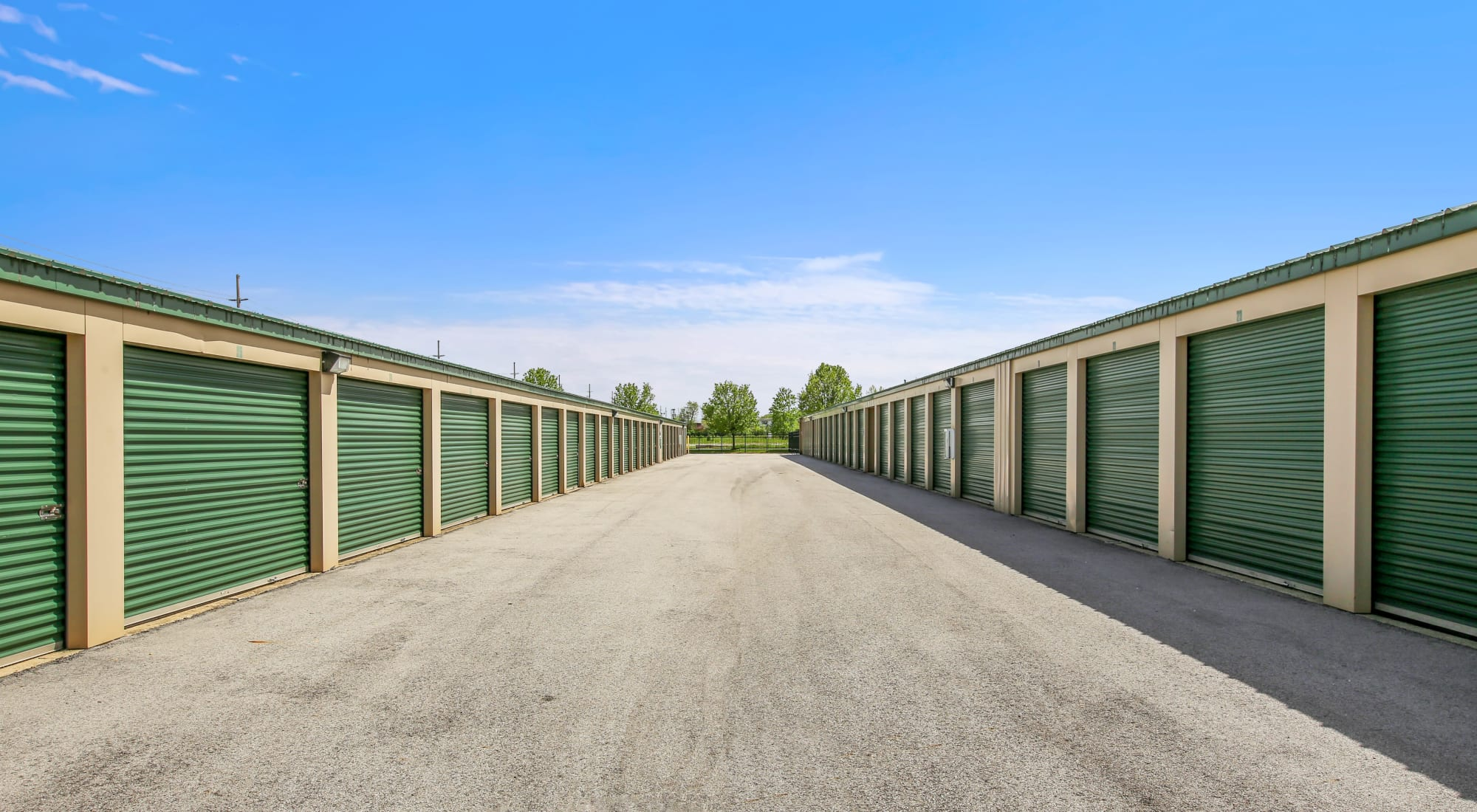 Global Self Storage self storage in Merrillville, Indiana