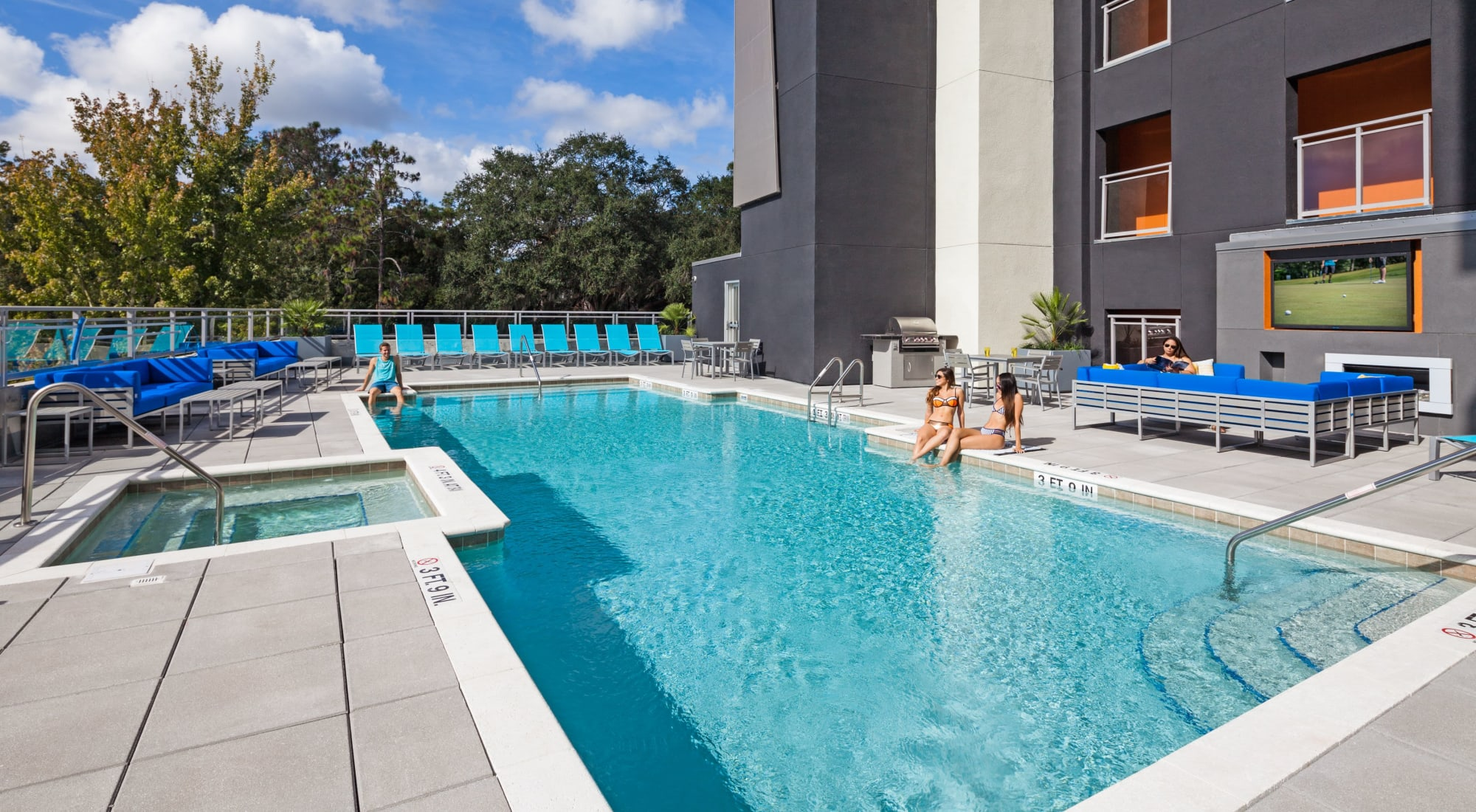 Apartments at Social 28 in Gainesville, Florida