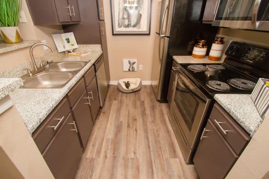 kitchen at Veranda in Texas City, Texas