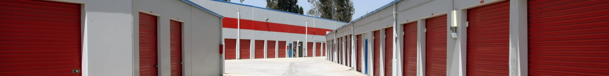 Self storage features at Trojan Storage in Colton, California, California