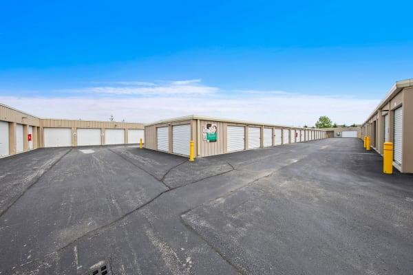 Vehicle storage at Global Self Storage in McCordsville, Indiana