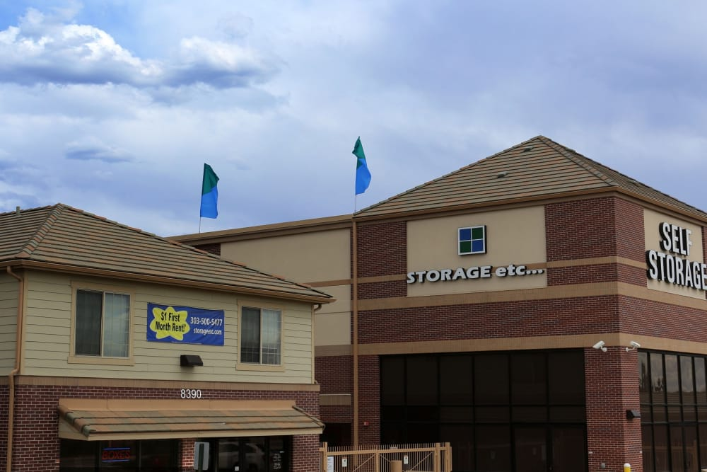 Exterior at Storage Etc... Westminster in Westminster, CO