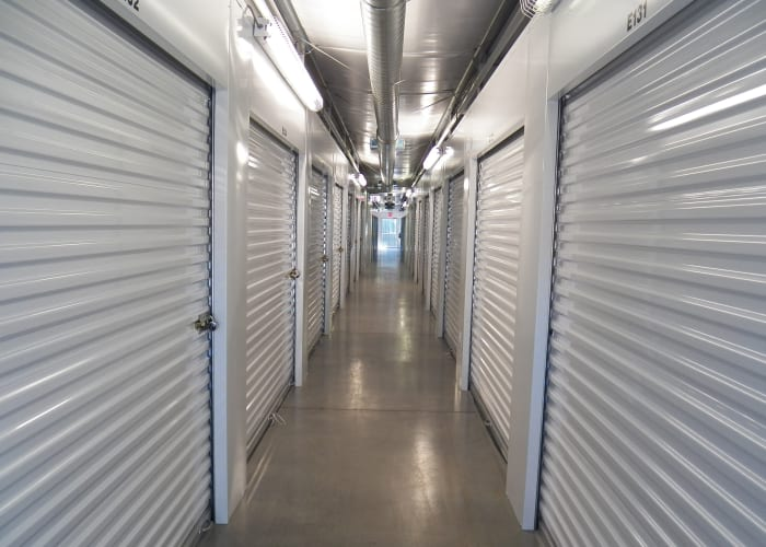 Interior view of Breezy Hill Self Storage in Graniteville, South Carolina