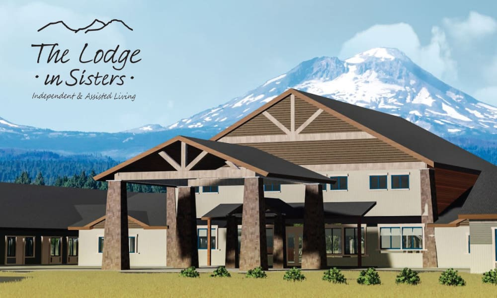 Main entrance at The Lodge in Sisters in Sisters, Oregon