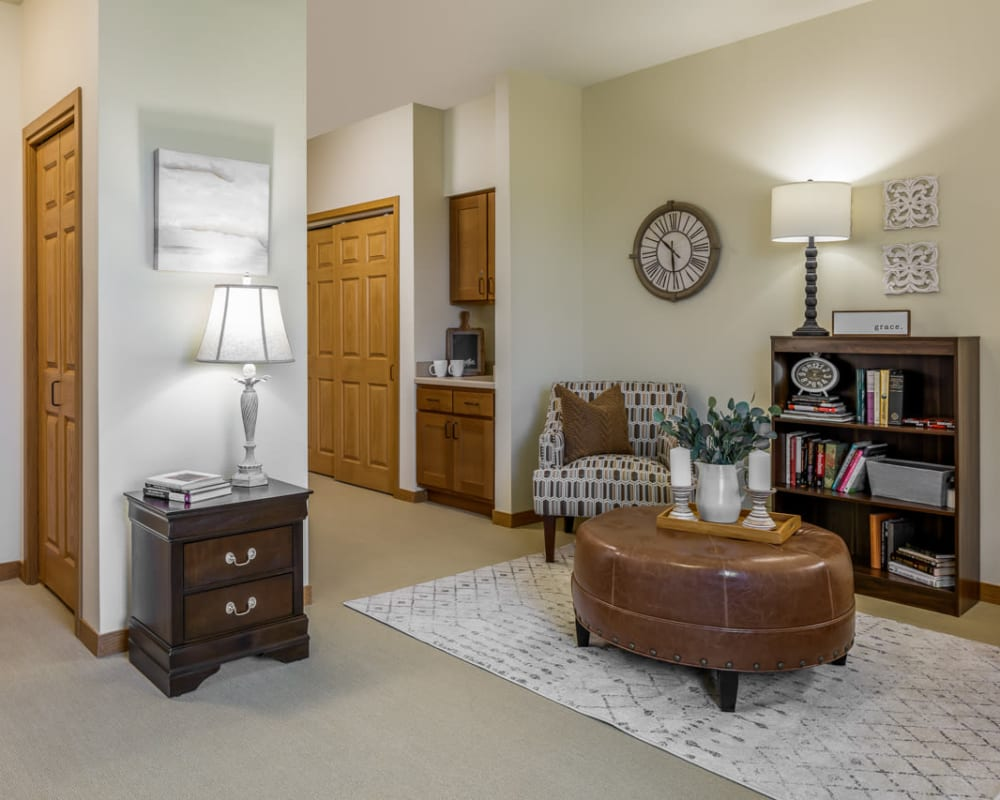 1 Bedroom senior apartment at Edencrest at Siena Hills in Ankeny, Iowa.