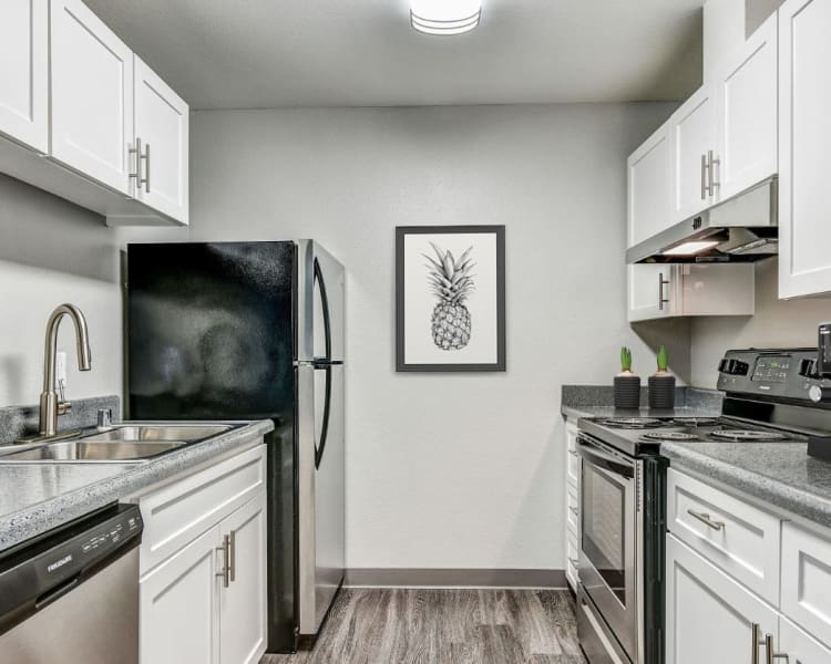 Click to see our floor plans at The Woodlands Apartments in Sacramento, California