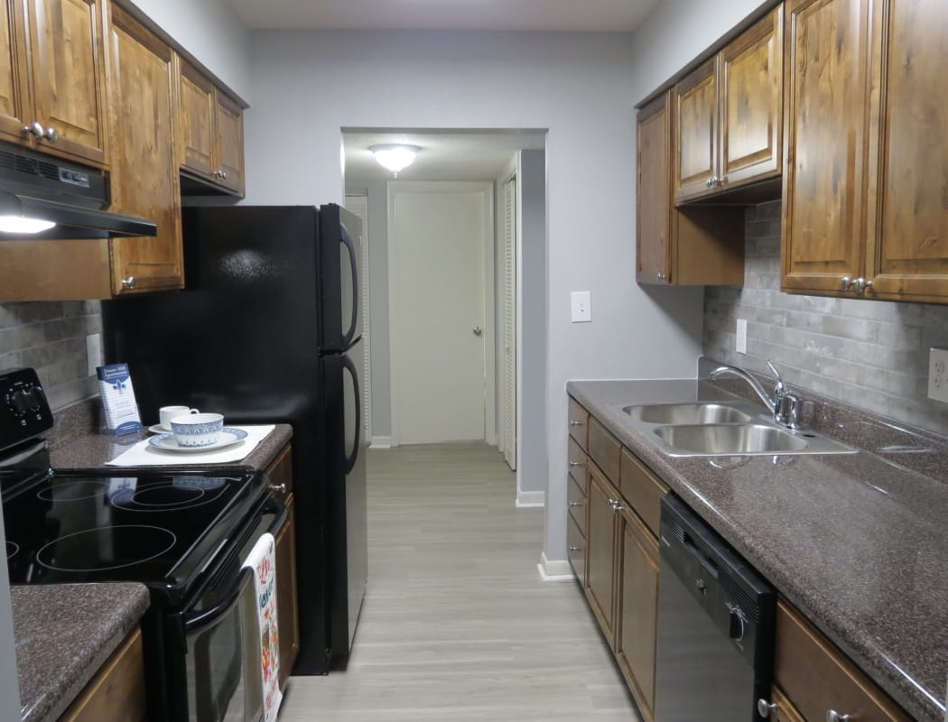 Modern kitchen at Deane Hill
