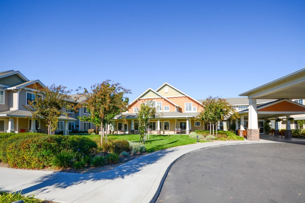 View of our entryway at The Commons at Union Ranch in Manteca, California