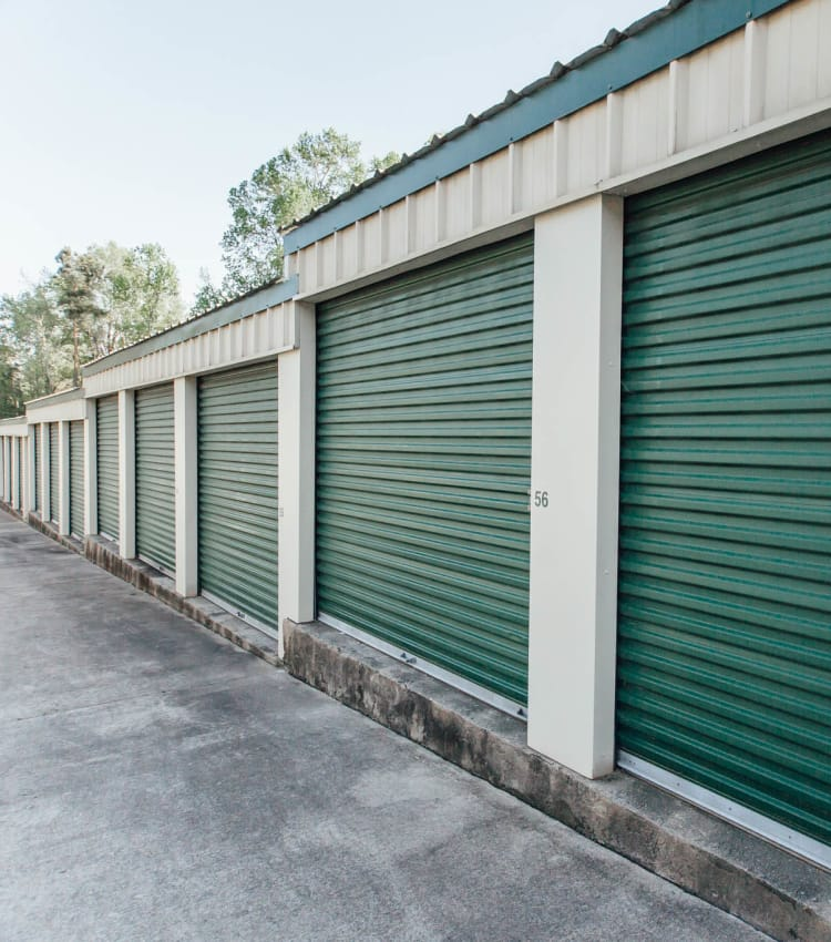 Self storage units for rent at AAA Ministorage in Durham, NC