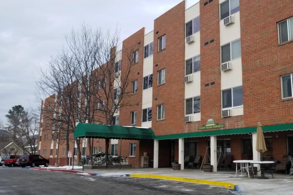 Apartment building at Tamarin Square in Durango, Colorado