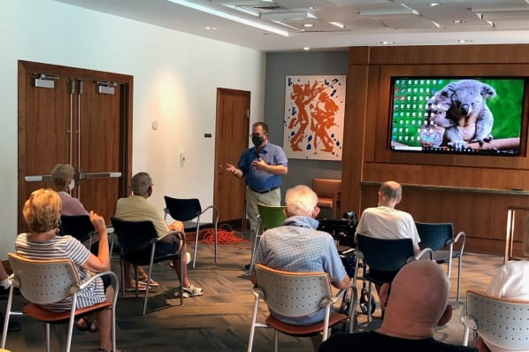 Technology Workshop by Professor Gene Hoyt