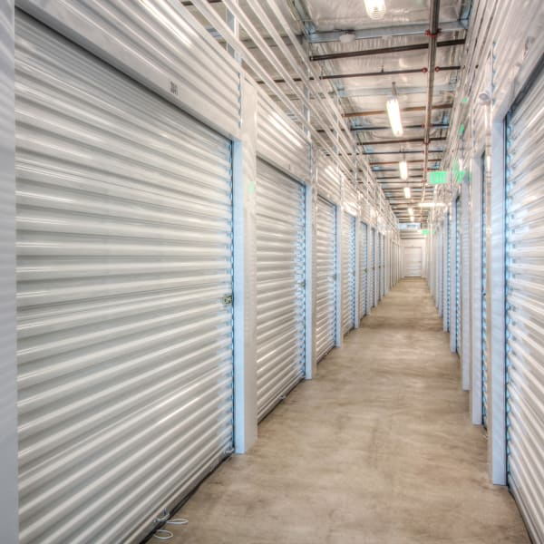Climate-controlled interior units at StorQuest Self Storage in Denver, Colorado