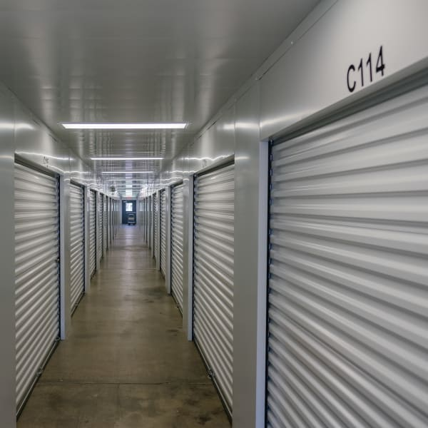 Storage units at StayLock Storage in Coloma, Michigan